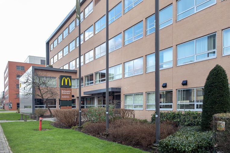 Het huidige hoofdkantoor van McDonald's in Zuidoost. Beeld Jakob Van Vliet