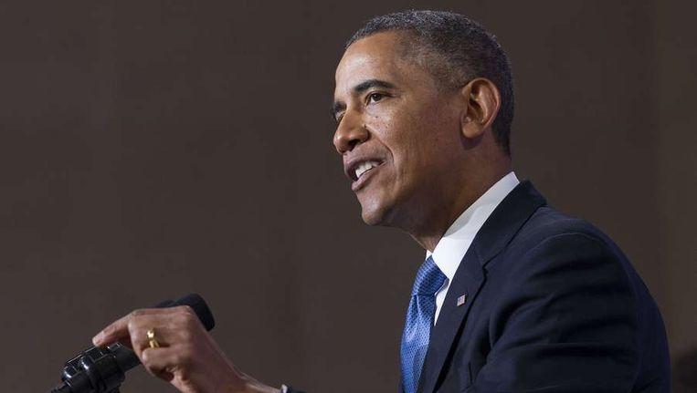 Amerikaanse president Barack Obama ontmoet in maart voor het eerst de paus Beeld EPA