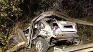 Bestuurder zwaargewond na crash op E313