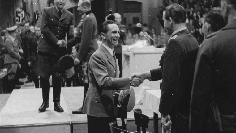 Joseph Goebbels. Beeld anp
