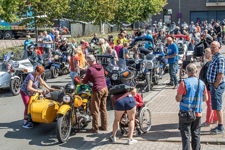 De Jumbo Run hielt halt in de gastgemeente Oostrozebeke.