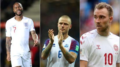 Zeker geen onbekenden: Nations League-tegenstanders Engeland, Denemarken en IJsland doorgelicht