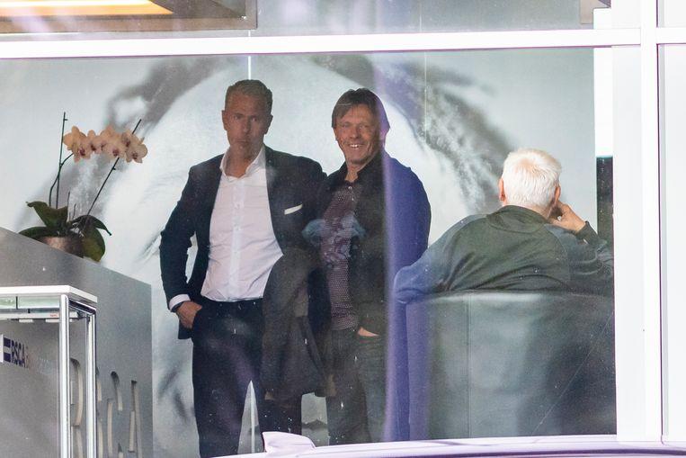 Op Neerpede vandaag met sportief directeur Michael Verschueren.