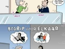 Cartoonrel in Enschede na overlast in zuiden van de stad? 'Je komt niet met een paar tekeningetjes'