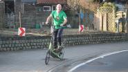 Straffe prestatie: Geert De Mulder rijdt Ronde van Vlaanderen uit met elliptische fiets