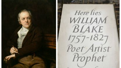 Begraafplaats Britse dichter William Blake gevonden door bewonderaars wordt onthuld