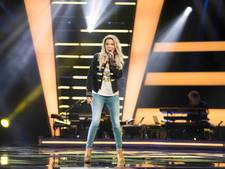 Huissense Lindy niet door in 'The Voice'
