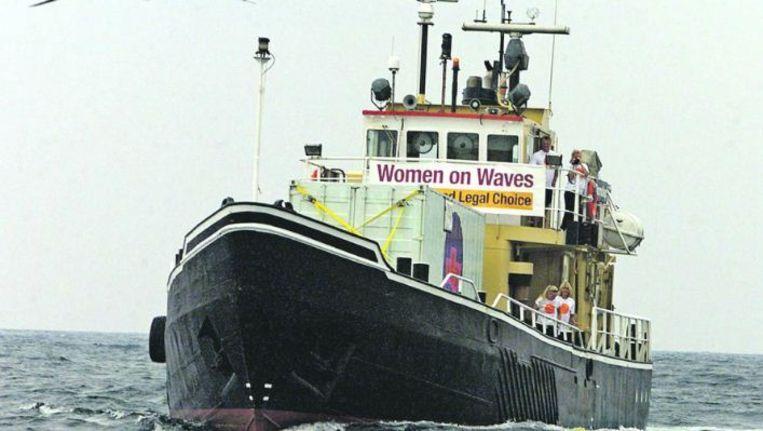 Het schip van Women on Waves Beeld
