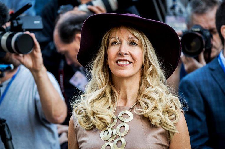 Liesbeth van Tongeren arriveert bij de Ridderzaal op Prinsjesdag. Beeld ANP