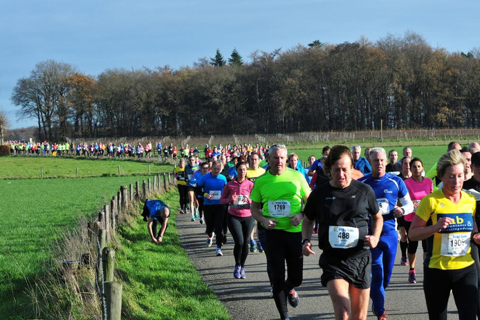 Hardlopers kunnen zich aanmelden voor de Montferlandrun die van start gaat op zondag 4 december.