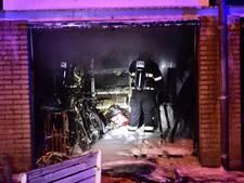 Garage in brand in Eindhoven
