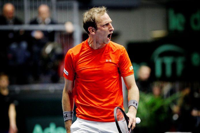 Thiemo de Bakker won de laatste editie van The Hague Open.