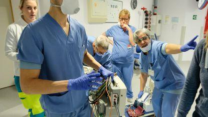 """AZ Jan Portaels wapent zich tegen verwachte piek in coronagevallen: """"Wees voorzichtig. Elke patiënt is er een te veel"""""""