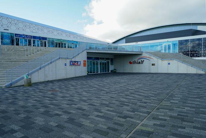 Schaatsstadion Thialf is dicht vanwege het coronavirus.