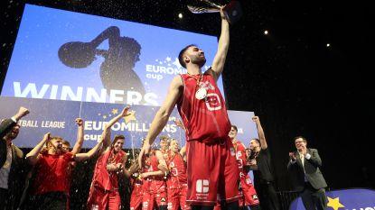 Antwerp Giants kloppen Charleroi en veroveren tweede beker op rij