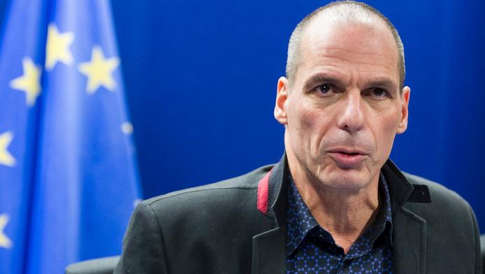 De Griekse Financiënminister Yanis Varoufakis.