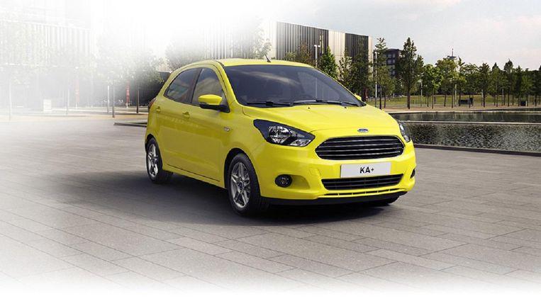 De Ford Ka+ Beeld Ford