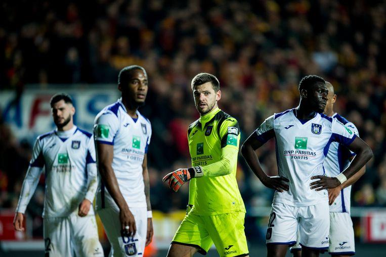 De spelers van Anderlecht.