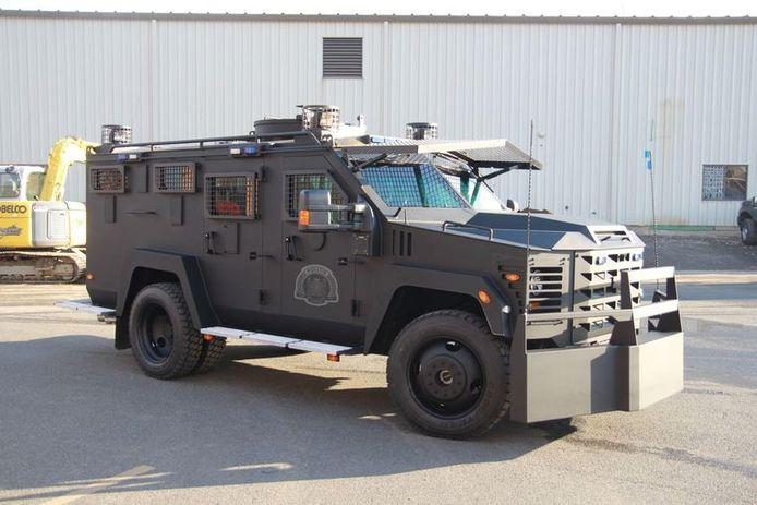 The BearCat van Operatie Nachtwacht
