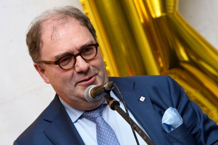 """Burgemeester van Aalst Christophe D'Haese (N-VA) roept de carnavalisten op """"niet te kwetsen om te kwetsen""""."""