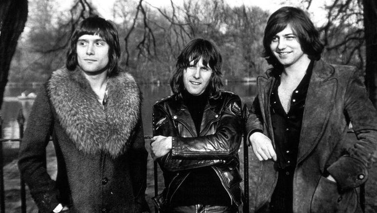 Het muzikale basisidee van Emerson, Lake & Palmer valt eigenlijk vrij eenvoudig samen te vatten: Bach op synths. Beeld Hollandse Hoogte