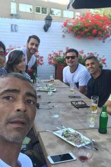 Romário brengt bezoekje aan 'zijn' Eindhoven