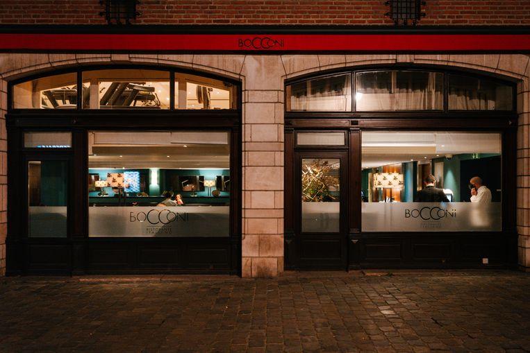 Restaurant Bocconi kan nog gewoon openblijven, aangezien het bij hotel Amigo hoort. Beeld Damon De Backer