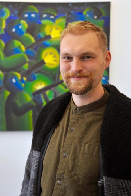 Kunstenaar Ralf Kokke (30) winnaar Picturaprijs