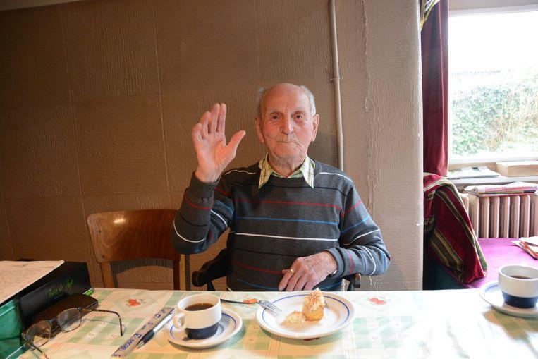 Meester Merckx was een bekend gezicht in Stekene. Hij overleed nu vlak voor zijn 104e verjaardag.
