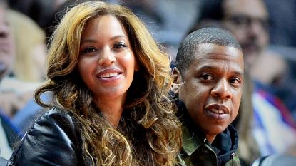 Eindelijk! Hier is de eerste haarscherpe foto van Beyoncé's tweeling Rumi en Sir