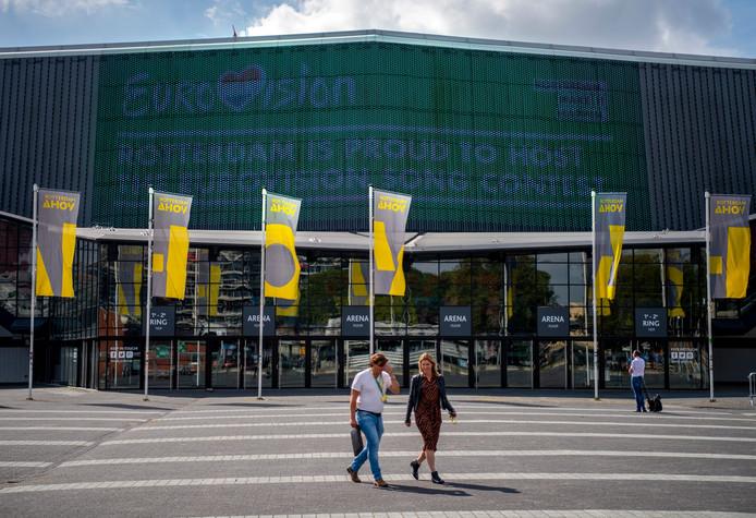 Rotterdam Ahoy. Nog plek zát voor Rotterdamse minima.