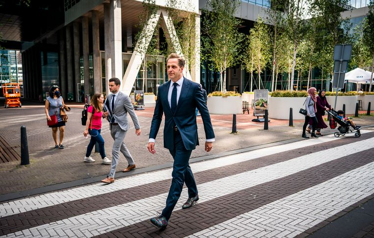 Minister Hugo de Jonge. Beeld Freek van den Bergh