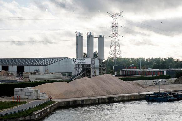 Het afvalverwerkend bedrijfAdams Polendam.