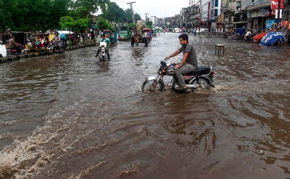Deze foto werd gemaakt in Lahore, Pakistan.