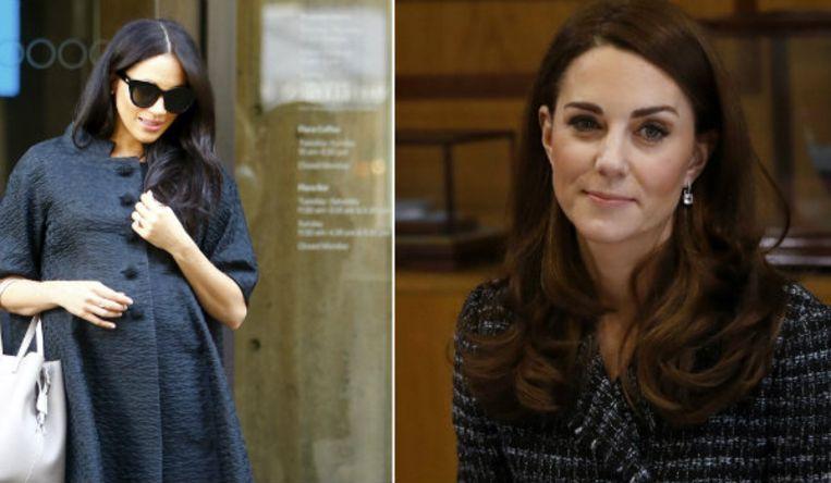 Meghan Markle en Kate Middleton.