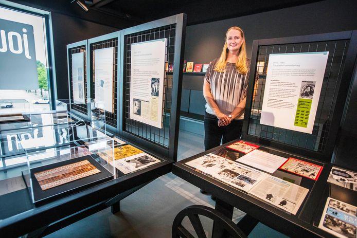 Marjonne Kube van Dijk, conservator van museum De Voorde.