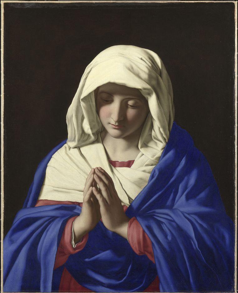 Sassoferrato, The Virgin in Prayer (1640-50) Beeld National Gallery