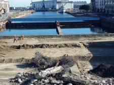 Blauwe dokbrug in Vlissingen verdwijnt volgende week