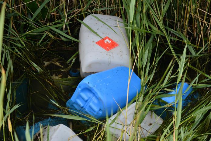 Drugsdumping in Teteringen.