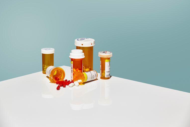 Wetenschap placebo pillen Beeld null