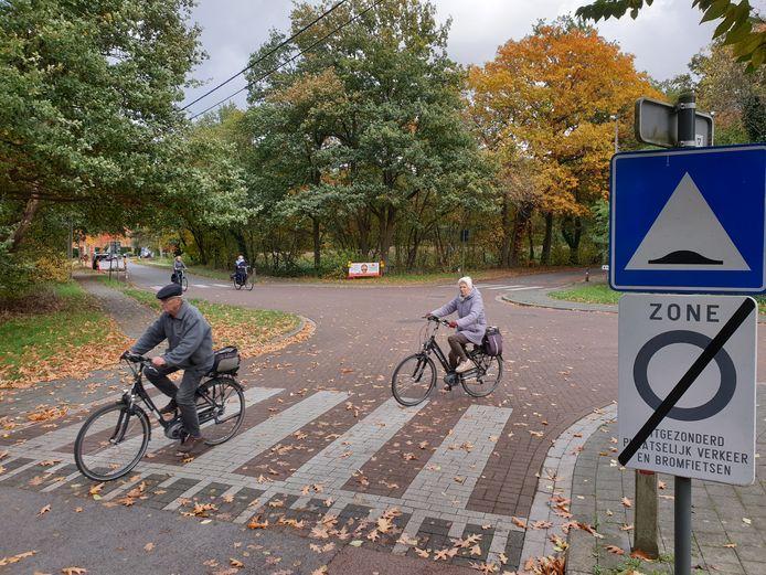Op het kruispunt van Wuytsbergen met Vogelzang komt er in november een proefopstelling.