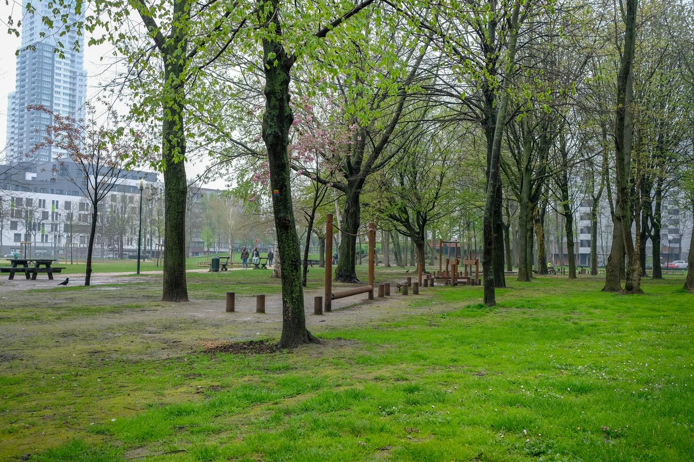 Het Maximiliaanpark.