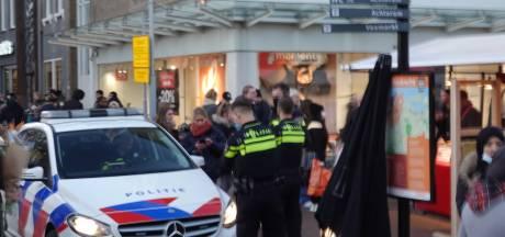 Binnenstad Dordrecht liep rustig leeg  na noodsluiting