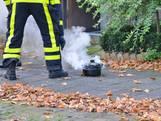 Vlam in de pan zorgt voor flinke rookontwikkeling in keuken