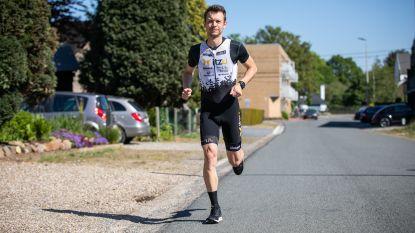 """Maasmechelaar loopt marathon in eigen wijk: """"57 keer blokje om"""""""