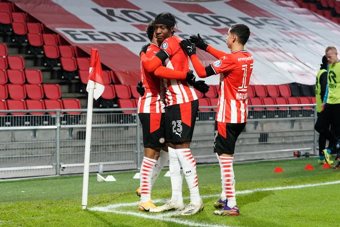 PSV won gisteravond nipt van Sparta.