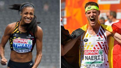 Nafi Thiam krijgt zesde Gouden Spike, Koen Naert kroont zich voor het eerst tot beste Belgische atleet