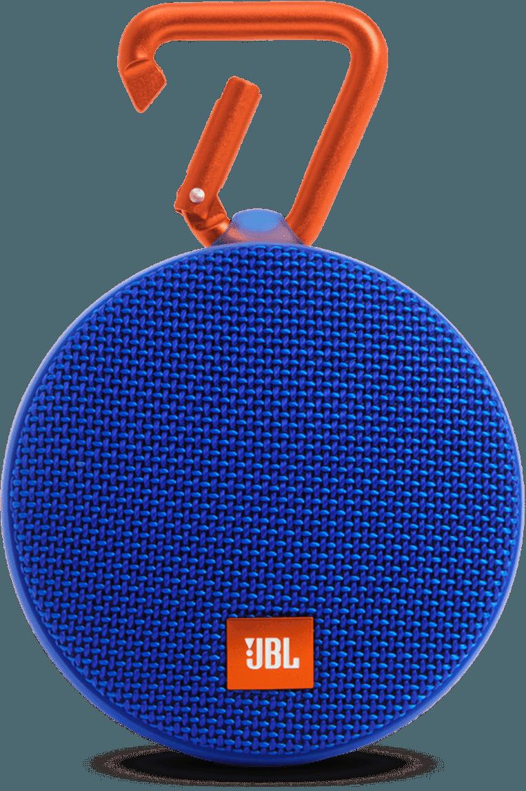 De waterdichte JBL Clip brengt letterlijk overal muziek in huis.