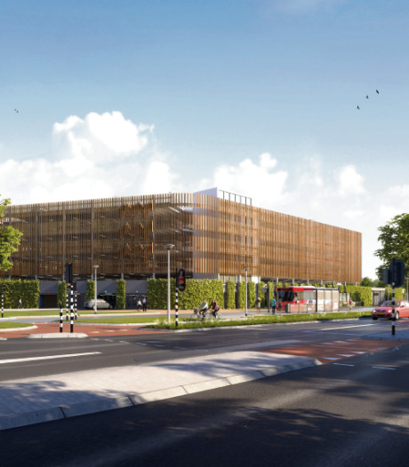 Parkeergarage aan Aalsterweg in Eindhoven klaar in najaar 2020, ook ambulancepost in gebouw