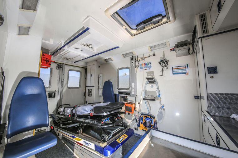 Ieper De ambulances voor collocaties zijn eigenlijk de reserveziekenwagens van de brandweer.